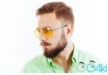 Водительские очки Premium A02 yellow