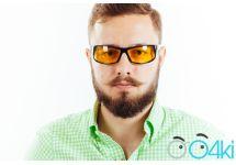 Водительские очки Premium P01 yellow
