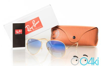 Очки RAY BAN Модель 3025D-blue-g